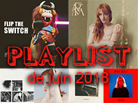 Playlist de juin 2018