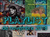 Playlist de novembre 2018