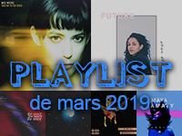 Playlist de mars 2019