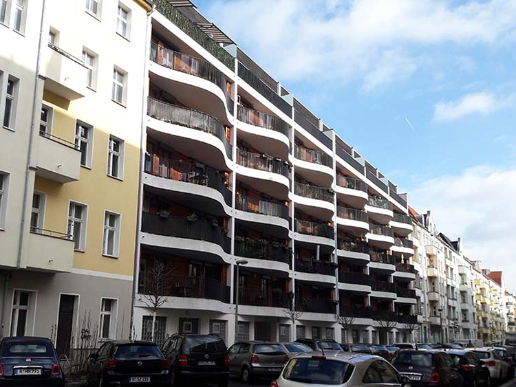 Architecture berlinoise 3 – vagues