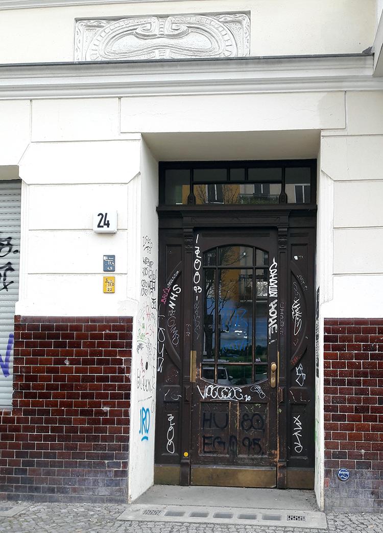 Architecture berlinoise 2 – portes