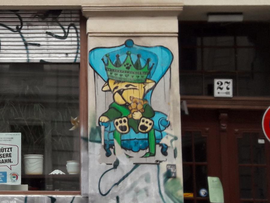 Street art dared
