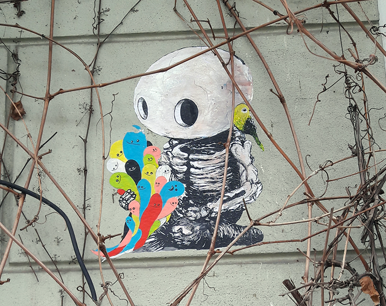 Street art à Berlin 7 – Sam Crew
